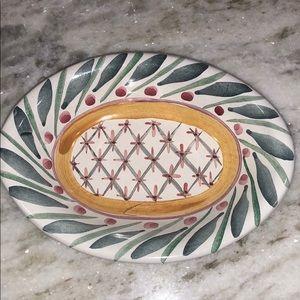 Mackenzie-Childs Ceramic Soap Dish